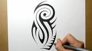 designing a tribal arm half sleeve design 2