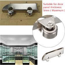 Glass Sliding Door Tracks For Cabinets Showcase Glass Cabinet Sliding Door Roller Gear Cl Steel Wheel