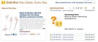 amazon black friday sale 2011 amazon black friday 2011 gold box deals begin today until