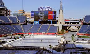 Gillette Stadium Map Patriots Give Bruins Winter Classic Welcome New England Patriots