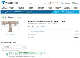Vistaprint 10 Business Cards Vistaprint Promo Codes And Discounts October 2017 Finder Uk