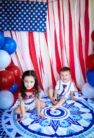 American Flag Backdrop 4th Of July American Flag Backdrop And Diy Confetti Poppers