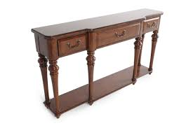hooker sofa tables hooker select tynecastle console table mathis brothers furniture