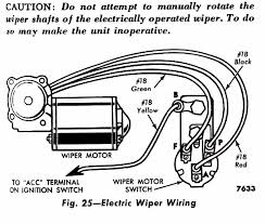 technical universal switch with 56 ford wiper motor the h a m b