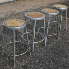 Metal Kitchen Chairs Kitchen Furniture Vintage Industrial Bar Stools