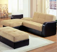 ottoman attractive lovely living room design with sleeper