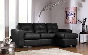 Black Leather Corner Sofa Black Leather Corner Sofa Only 499 99 Furniture Choice