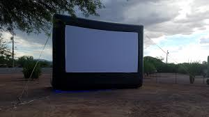 outdoor cinema services u0026 inflatable screen rentals desert air