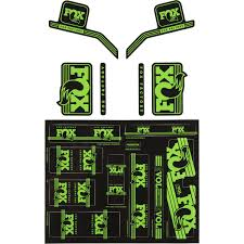 fox motocross forks fox racing shox heritage fork and shock decal kit competitive