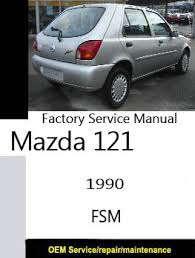mazda factory service repair manuals