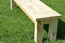 diy rustic seating bench