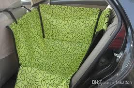 2018 fashion new cradle dog car rear back seat cover pet mat