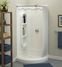 Stand Up Shower Curtains Glamorous Corner Stand Up Shower Images Ideas House Design