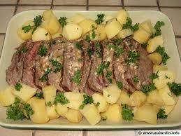 cuisiner un rosbeef rosbif au roquefort recette de cuisine