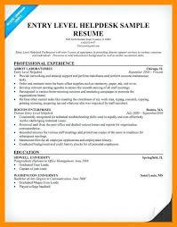 it help desk resume entry level sle help desk resume