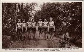 Ancient Origins Of Halloween Mende People Sierra Leone S Educated And Highly Politically