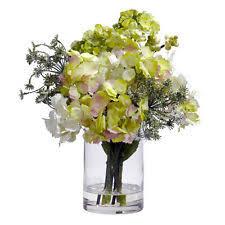 Vases With Fake Flowers Fake Flower Arrangements Floral Decor Ebay