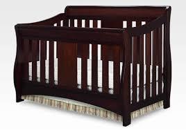 Delta Convertible Crib Bed Rail Oberon 4 In 1 Crib Black Cherry Espresso By Delta Children Baby