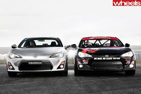 toyota 86 toyota 86 gts v toyota 86 race car comparison review wheels