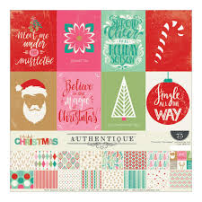 christmas collections authentique paper collections