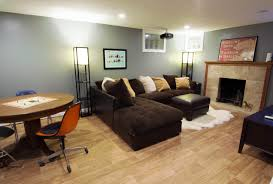 media room with basement finishing services everdry