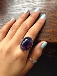 large ladies rings images Large midnight amethyst opal ring emily thai jewelry online jpg
