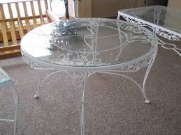 Wrought Iron Patio Tables Antique Wrought Iron Patio Furniture Michigan Home Design