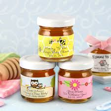 honey jar favors baby shower personalized honey jars many designs