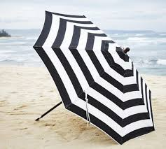 Blue And White Striped Patio Umbrella Blue And White Striped Patio Umbrella Outdoor Info Site