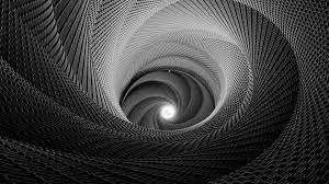monochrome texture black and white trippy spiral vector loversiq