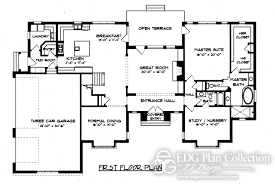 Uncategorized Country Estate House Plan Stupendous Within