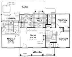 here is the floor plan for the great escape 480 sq ft small modern style simple home floor plan here is a simple building