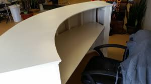Reception Desks Sydney by Handyman How 2 Building A Round Reception Desk