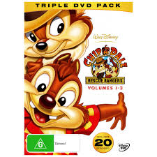 chip n dale rescue rangers chip n dale rescue rangers volumes 1 3 3 discs dvd movie