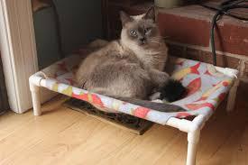 cat hammock bed diy youtube