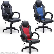 Ergonomic Office Chairs With Lumbar Support Adjustable Hydraulic High Back Ergonomic Office Chair Bucket Seat