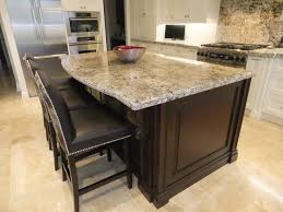 two tone kitchen cabinets with leathered almond white granite