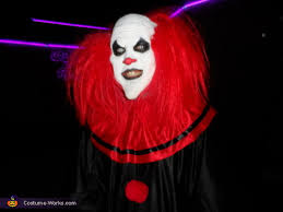 Halloween Clown Costumes Scary Evil Clown Halloween Costume Photo 3 4
