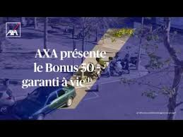Pub Tv Axa Les Additions Gagnantes Profitez De Axa Présente Le Bonus 50 Garanti à Vie
