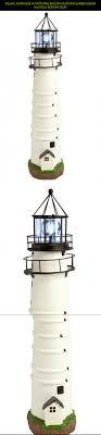 solar lighthouse light kit solar lighthouse w rotating beacon outdoor garden decor nautical
