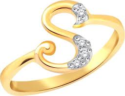 s ring classic stunning s alphabet for women cj1137frg13 alloy cubic