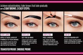 tattoo eyebrows by maybelline you can now tattoo your own eyebrows but it s not what you think