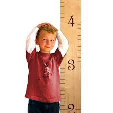 wall hanging wooden growth chart ruler for boys girls to measure