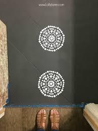 How To Paint A Tile Floor Bathroom - your tile floors paint them lolly jane