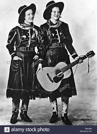girls of the golden west us country music duo of sisters mildred