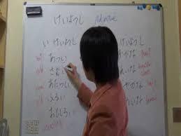 japanese class online basic japanese grammar adjective mieko japanese school online