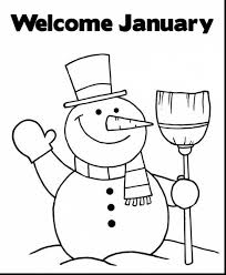 unique january coloring pages 55 on free colouring pages with