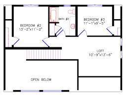 floor plans for a small house chalet