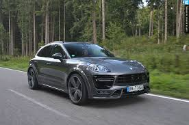 porsche macan turbo white techart heats up the 2015 porsche macan turbo automobile magazine