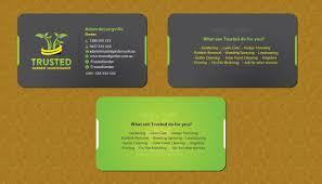 Landscape Business Cards Design Bold Professional Business Card Design For Adam Delongville By